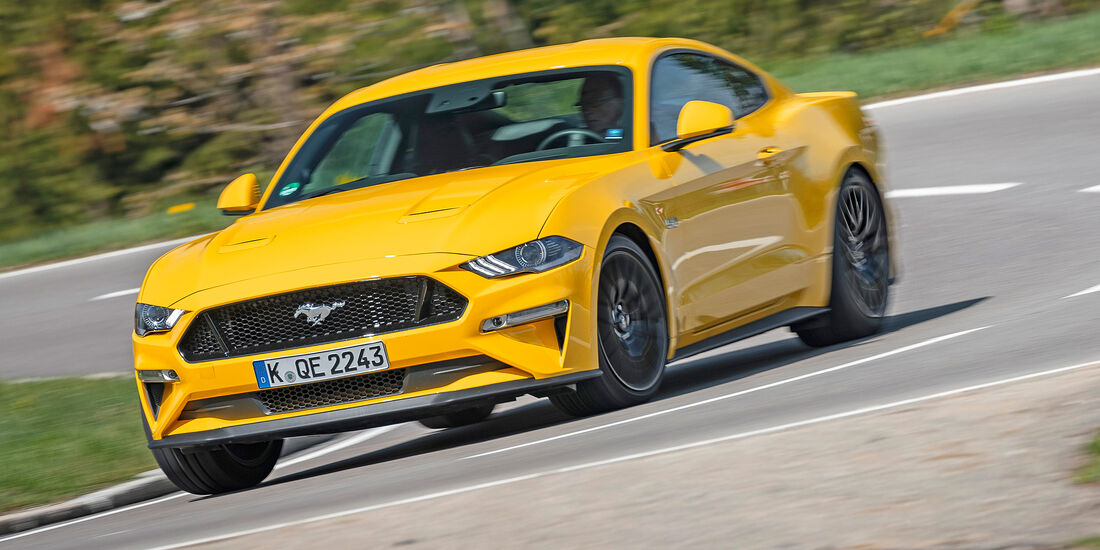 Ford Mustang GT Fastback - Serie - Coupes bis 50000 Euro - sport auto Award 2019
