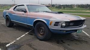 Ford Mustang Mach 1 Scheunenfund Folierung