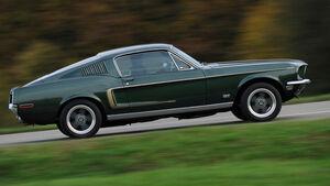 Ford Mustang V8, Seitenansicht