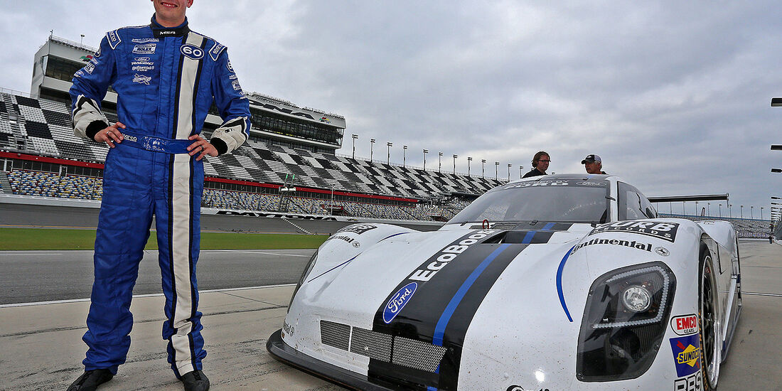 Ford Racing, Daytona, EcoBoost V6 Colin Braun
