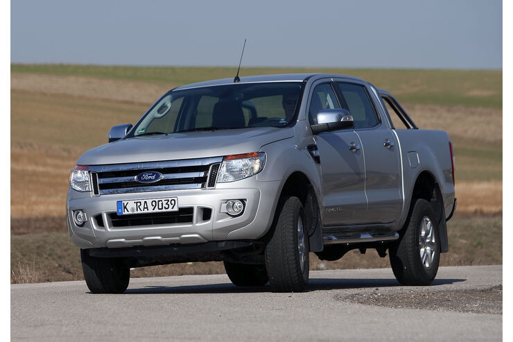 ford ranger preise der neue pickup startet bei. Black Bedroom Furniture Sets. Home Design Ideas