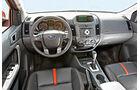 Ford Ranger 3.2 TDCi Wildtrak, Cockpit