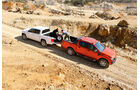 Ford Ranger 3.2 TDCi Wildtrak, VW Amarok 2.0 BiTDI Highline, Ladeklappe