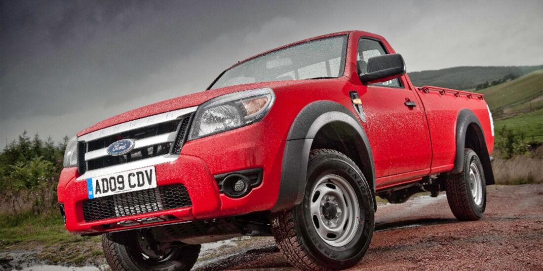 Ford Ranger Facelift 2010