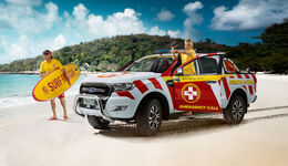 Ford Ranger Great Barrier Reef Beach Patrol Showcar
