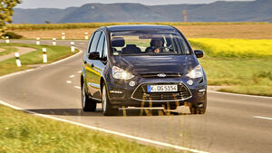 Ford S-MAX 1.6 EcoBoost Titanium, Frontansicht