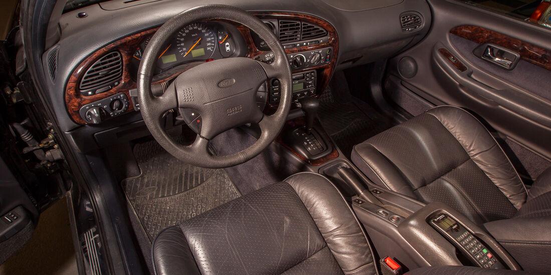 Ford Scorpio II, Cockpit, Lenkrad