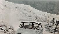 Ford Taunus 17 M, altes Cover, Berglandschaft, Front