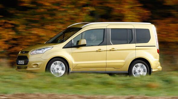 Ford Tourneo Connect, Seitenansicht