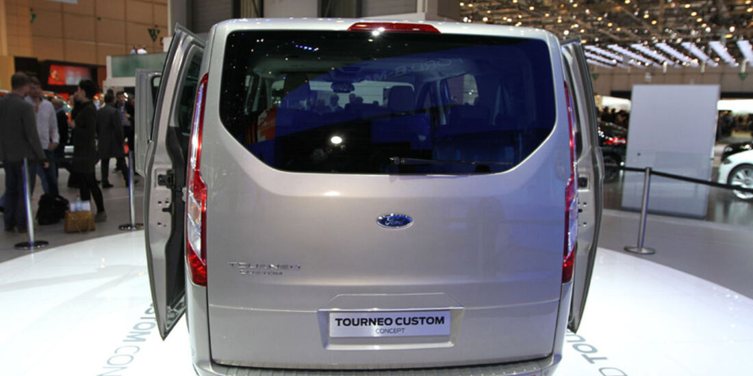 Ford Tourneo Custom Concept, Autosalon Genf 2012, Messe
