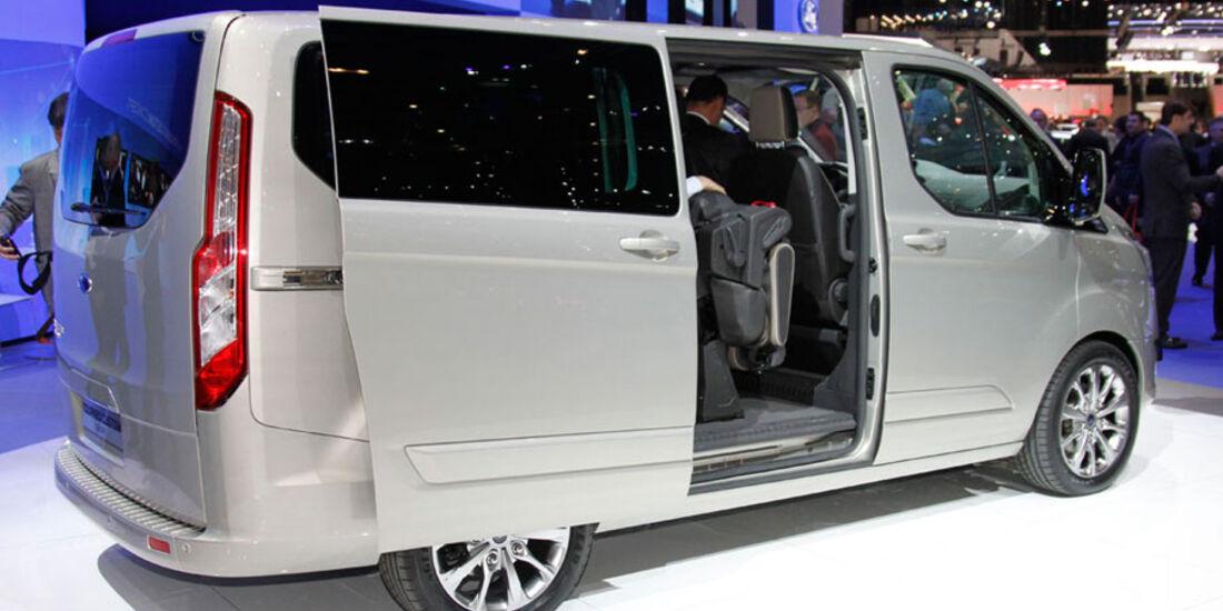 Ford Tourneo Custom, Genf 2012
