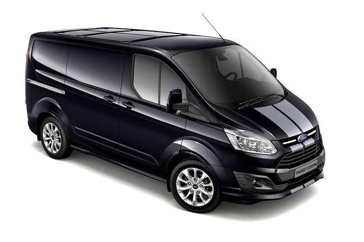 ford transit custom sport mit gro em sportlichen nutzen auto motor und sport. Black Bedroom Furniture Sets. Home Design Ideas