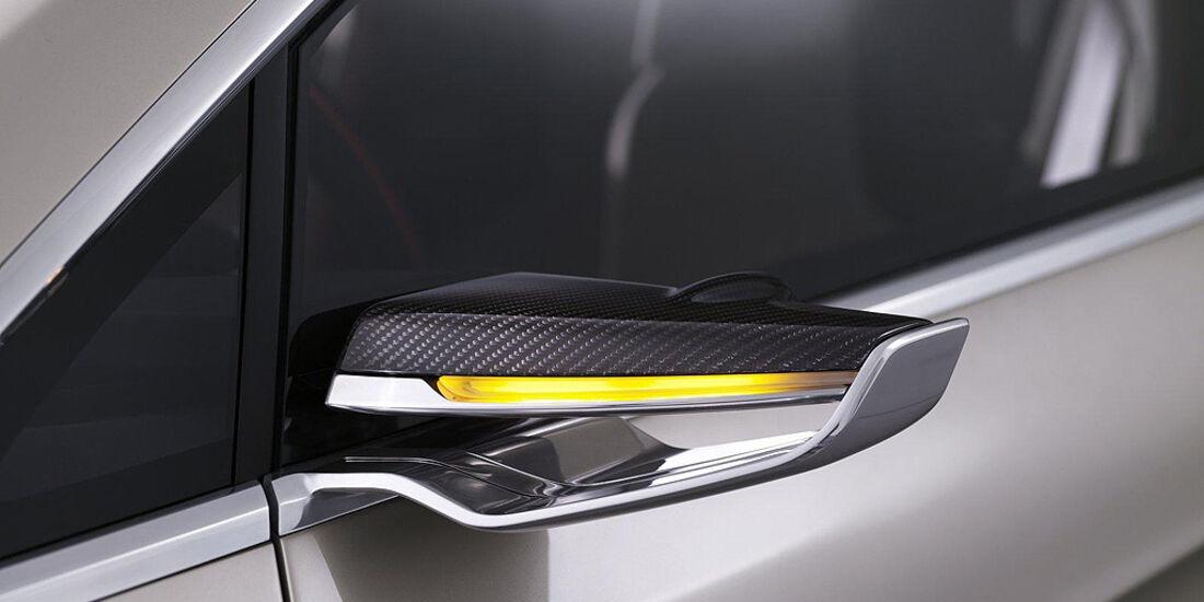 Ford Vertrek Concept, Rückspiegel, Blinker