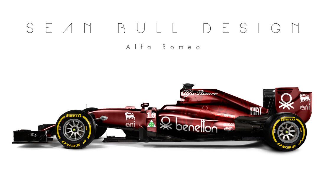 Formel 1 - Alfa Romeo - Fantasie-Teams - Sean Bull Design