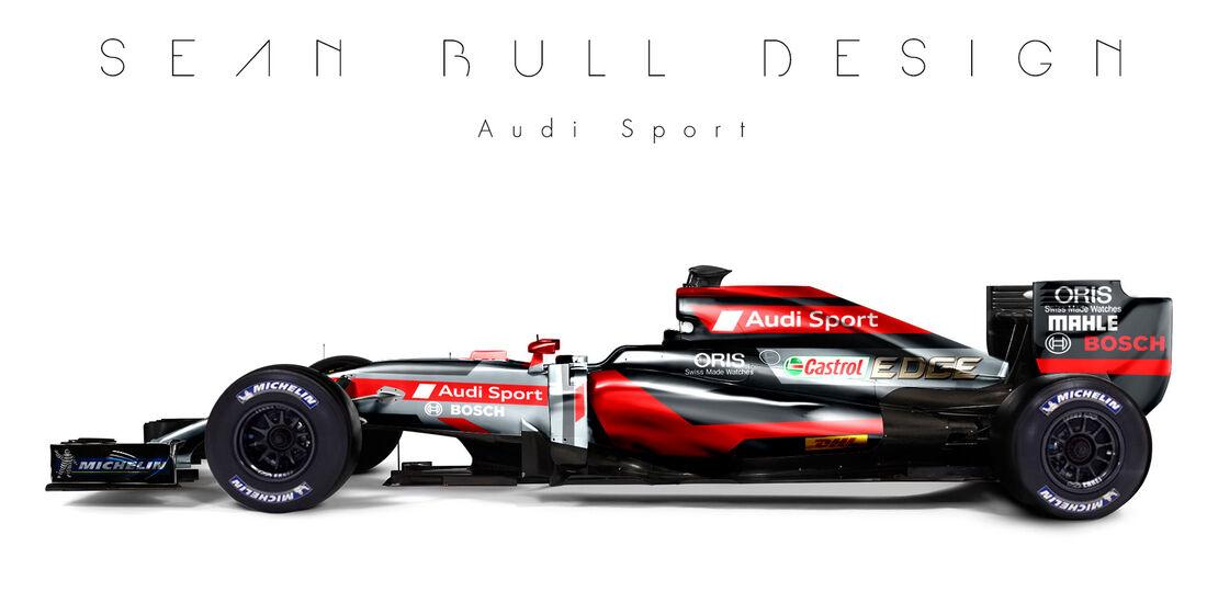 Formel 1 - Audi - Fantasie-Teams - Sean Bull Design