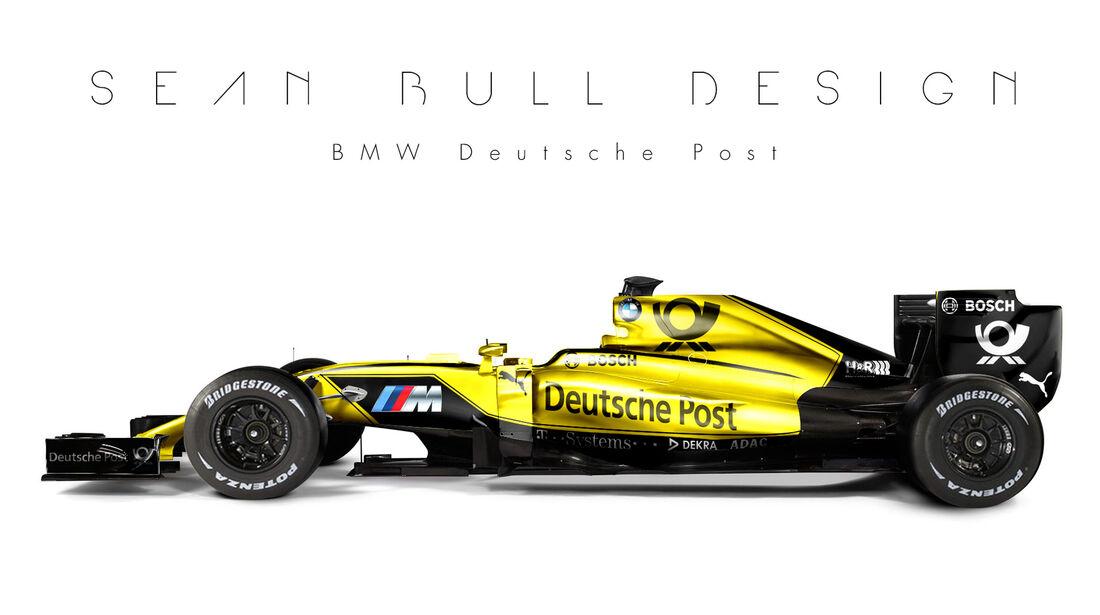 Formel 1 - BMW - Fantasie-Teams - Sean Bull Design
