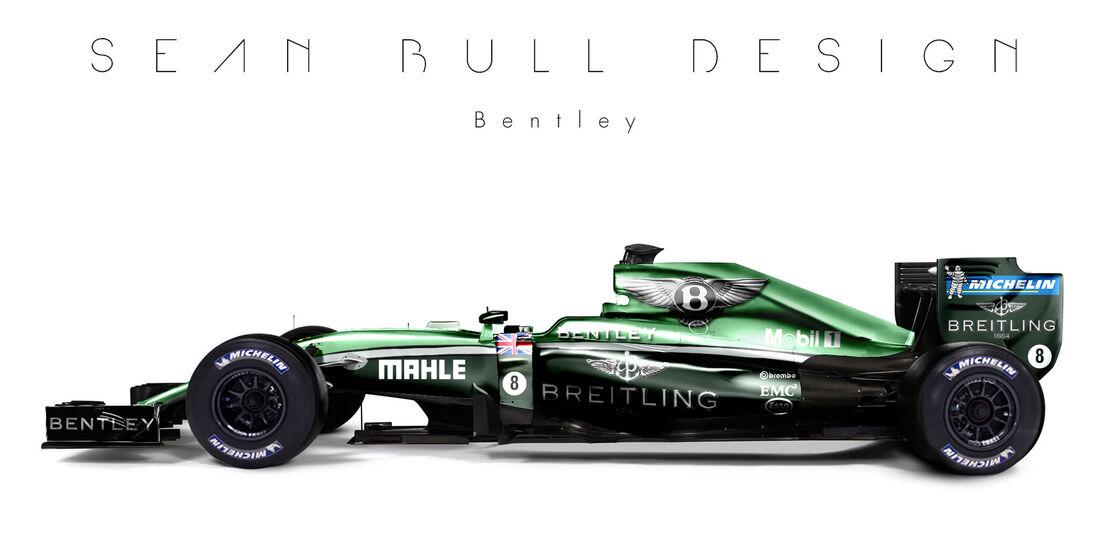 Formel 1 - Bentley - Fantasie-Teams - Sean Bull Design