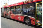Formel 1 Bus-Werbung 2013