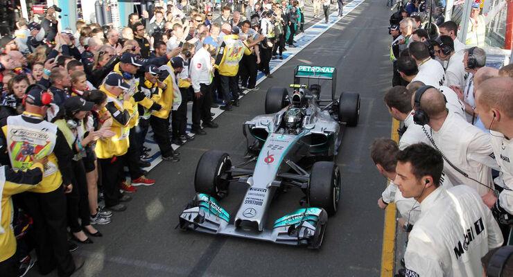 Formel 1 GP Australien 2014 Nico Rosberg