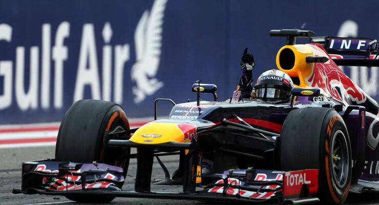 Formel 1 GP Bahrain 2013 Sebastian Vettel