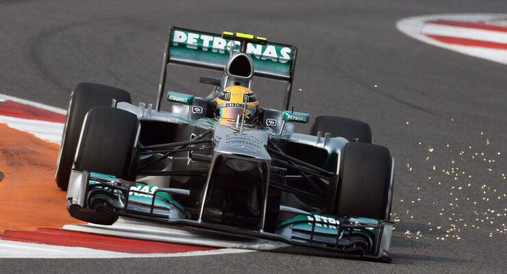 Formel 1 GP Indien 2013 Lewis Hamilton