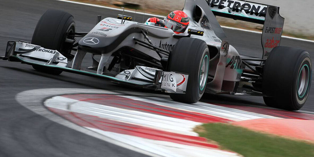 Formel 1 GP Korea 2010 Schumacher