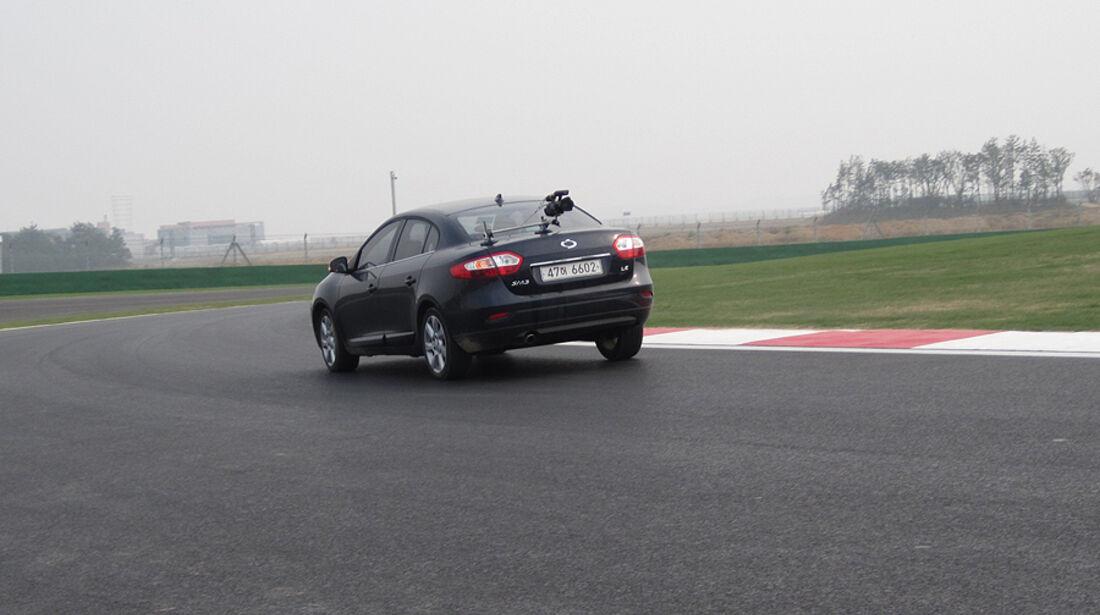 Formel 1 GP Korea 2010 Strecke Kameraauto