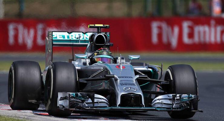 Formel 1 GP Ungarn 2014 Nico Rosberg