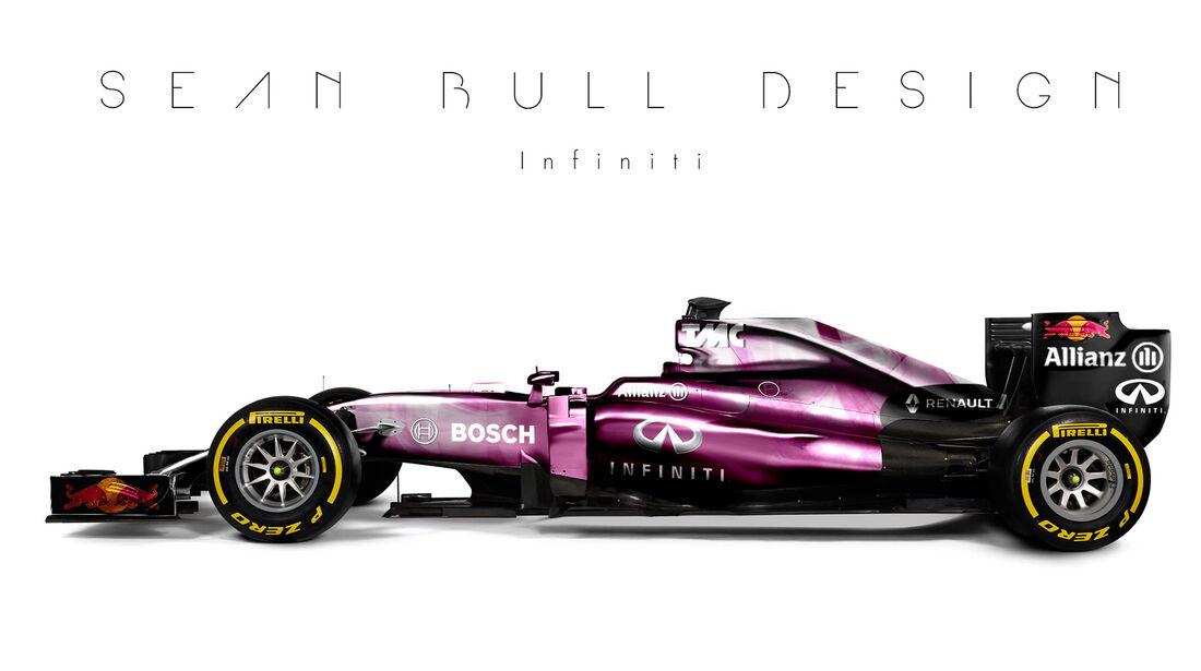 Formel 1 - Infiniti - Fantasie-Teams - Sean Bull Design