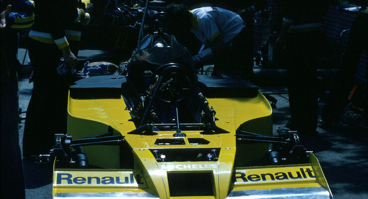 Formel 1 - Renault RS01 - V6-Turbo - 1977