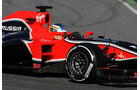 Formel 1-Test, Barcelona, 22.2.2012, Charles Pic, Marussia F2