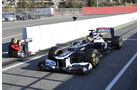 Formel 1-Test, Barcelona, 24.2.2012, Pastor Maldonado, Williams