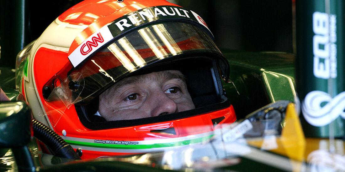 Formel 1-Test, Jerez, 10.2.2012, Jarno Trulli, Caterham