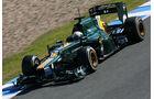 Formel 1-Test, Jerez, 9.2.2012, Giedo van der Garde, Caterham