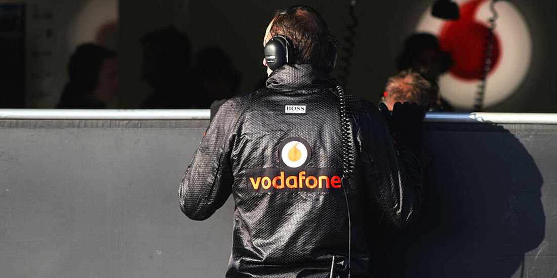 Formel 1-Test, Jerez, 9.2.2012, Mechaniker, McLaren