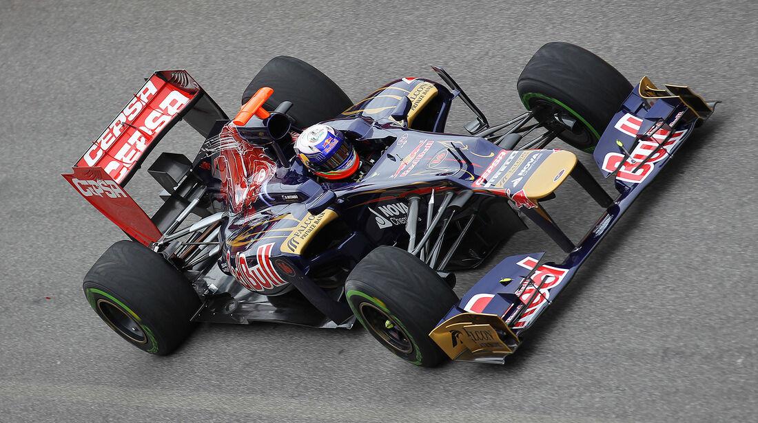 Formel 1-Test, Mugello, 03.05.2012, Daniel Ricciardo, Toro Rosso