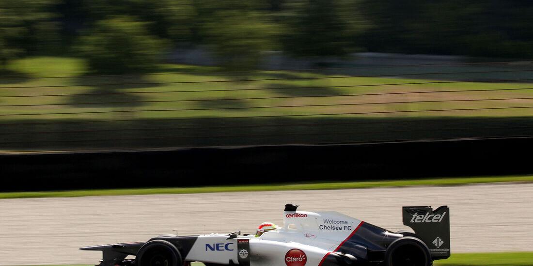 Formel 1-Test, Mugello, 03.05.2012, Sergio Perez, Sauber