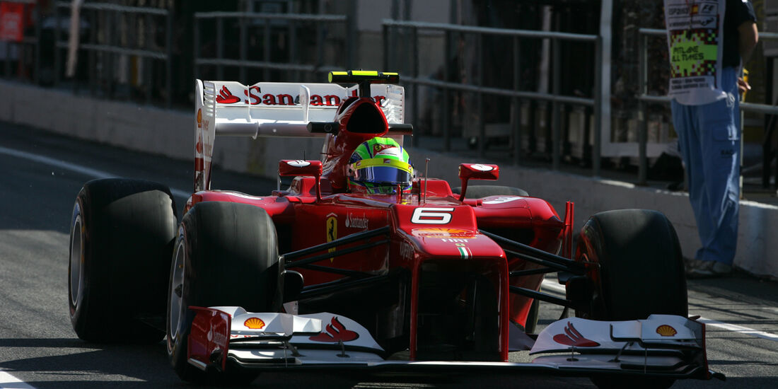 Formel 1-Training, Barcelona, 11.05.2012