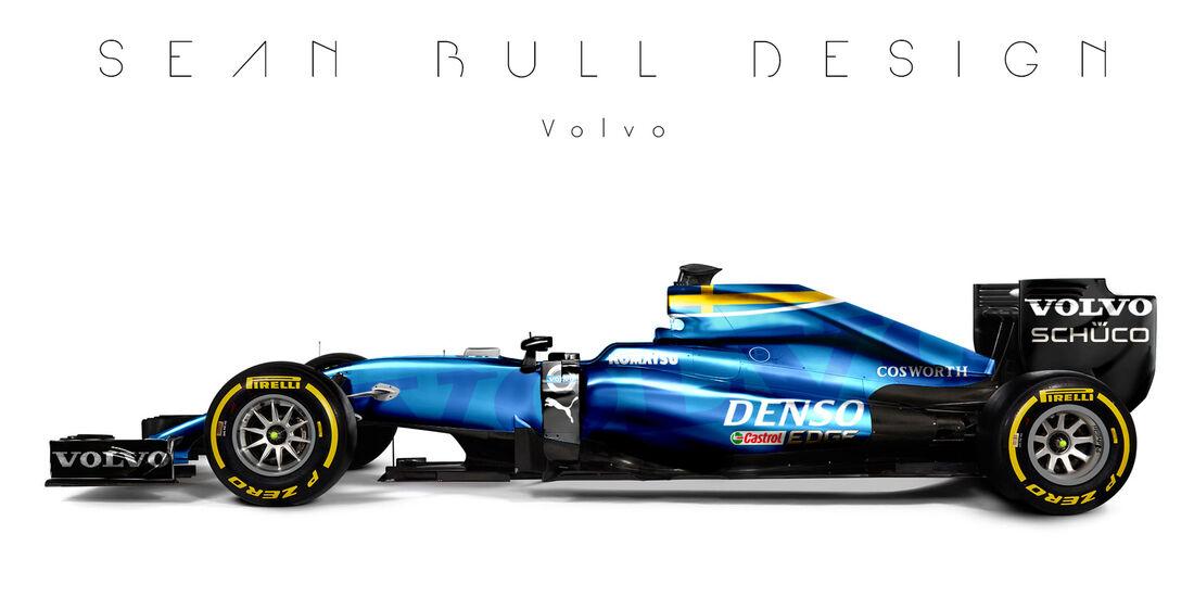 Formel 1 - Volvo - Fantasie-Teams - Sean Bull Design