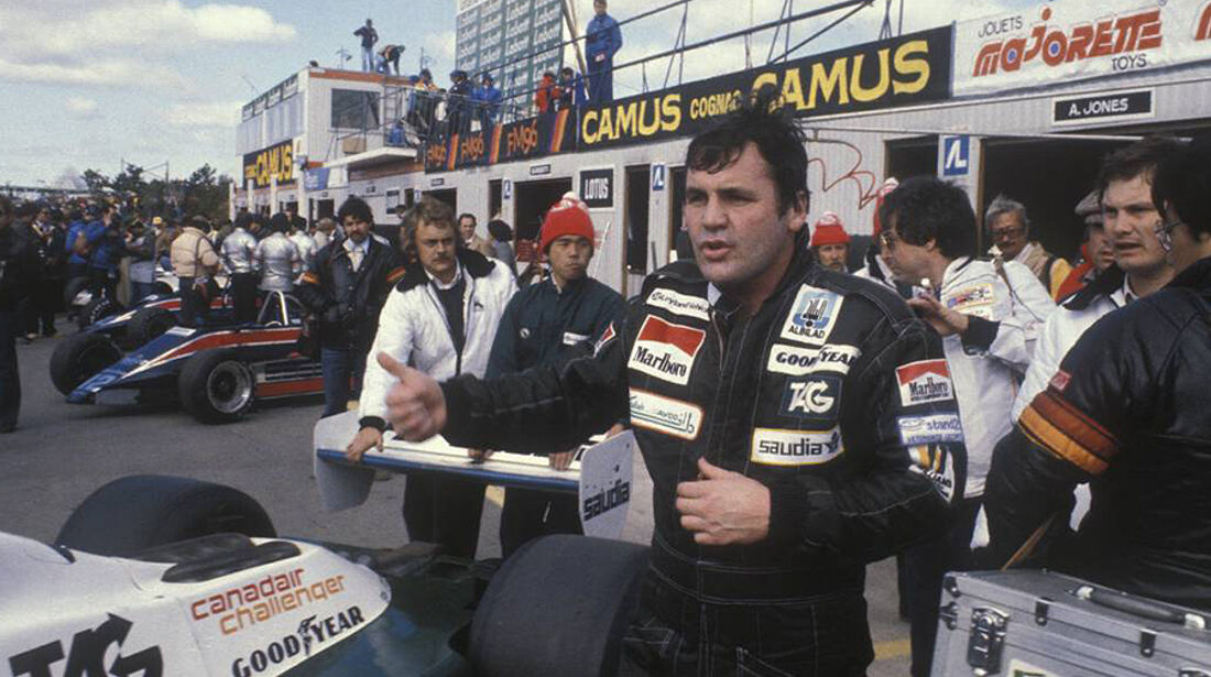 Formel 1 Weltmeister  Alan Jones