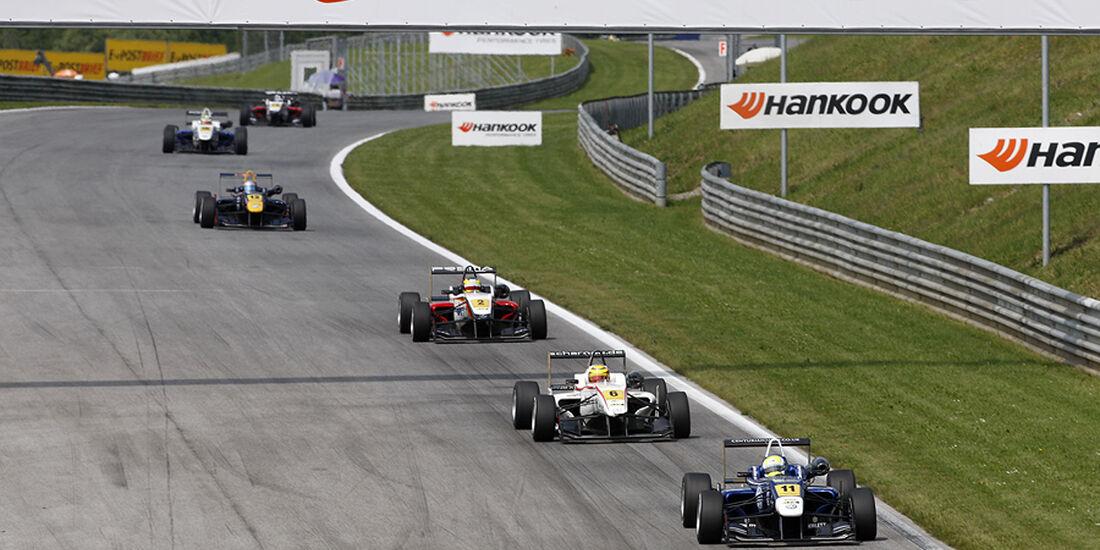 Formel 3 Spielberg 2012, Rennen 3, William Buller, Pascal Wehrlein, Sven Mueller
