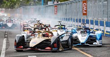 Formel E - Sanya 2019 - Start