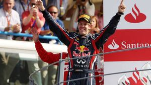 Formula 1 Grand Prix, Italy, Sunday Podium
