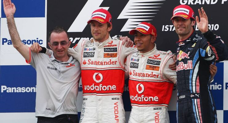 Formula 1 Grand Prix, Turkey, Sunday Podium