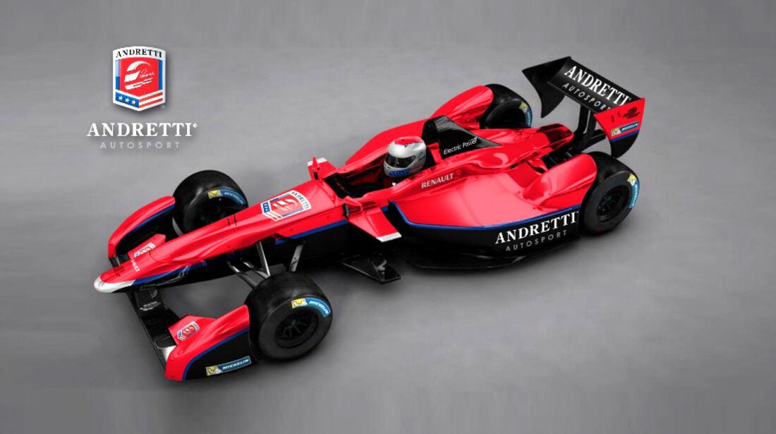 Formula E - Formel E - Andretti Motorspot