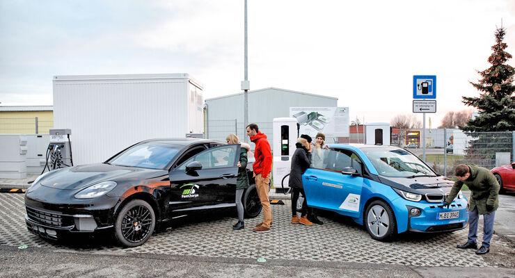 Forschungsprojekt FastCharge: Ultra-Schnellladetechnologie bereit für die Elektrofahrzeuge der Zukunft.