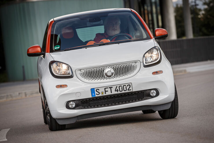 Fortwo Coupé 1.0, Frontansicht