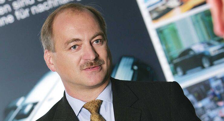 Fritz Steinparzer, Leiter der Dieselmotorenentwicklung der BMW Motoren GmbH Steyr