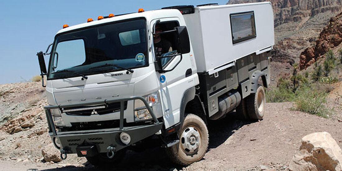 Fuso Canter 4x4 All Terrain Warriors USA Expeditionsmobil