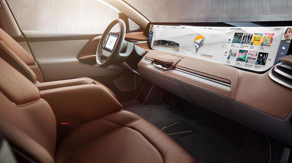 Future Mobility Corporation FMC Byton CES 2017